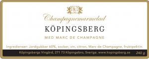 Champagnemarmelad